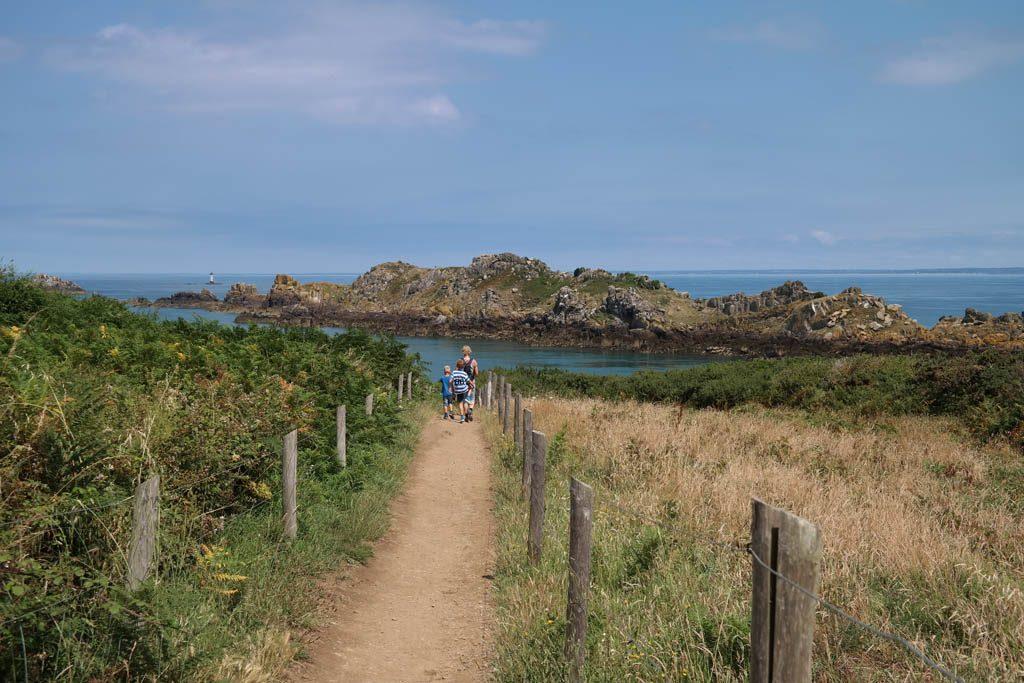 Wandelen bij Pointe de Grouin.