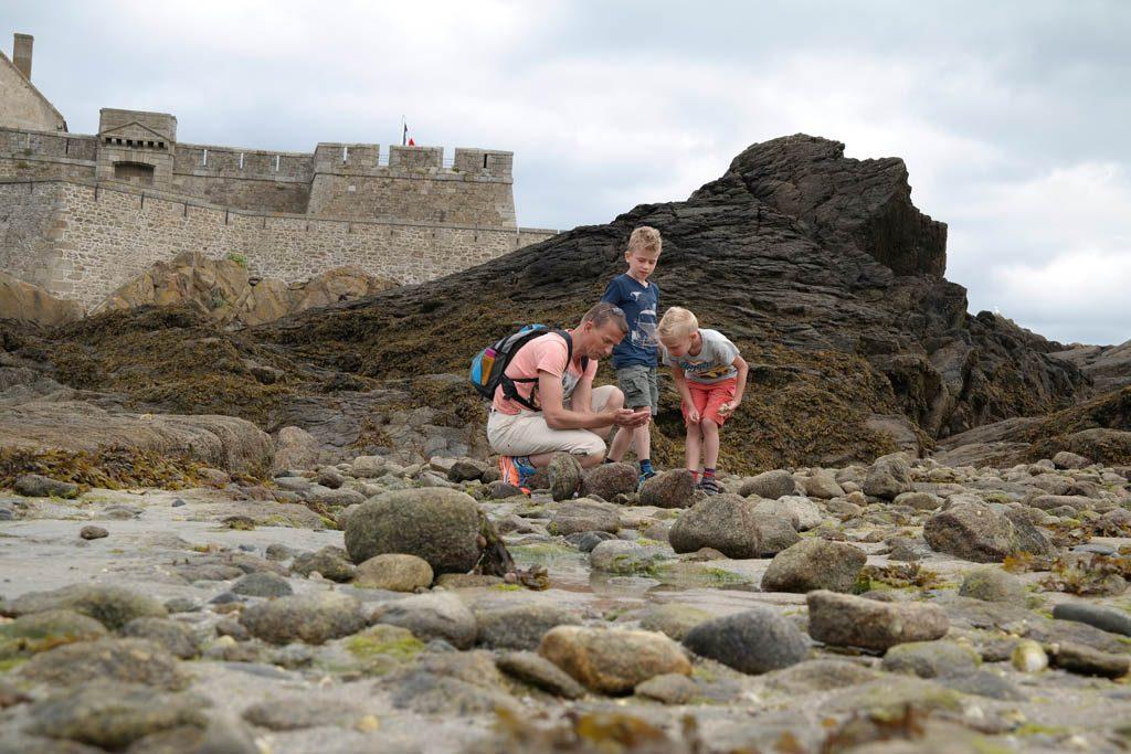 Bij een bezoek aan Saint Malo mag je het Fort National niet overslaan.