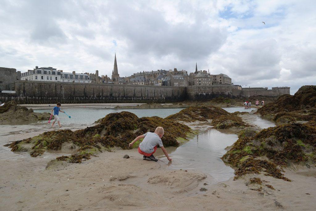 Saint Malo, prachtige oude vestingstad aan de Atlantische kust.