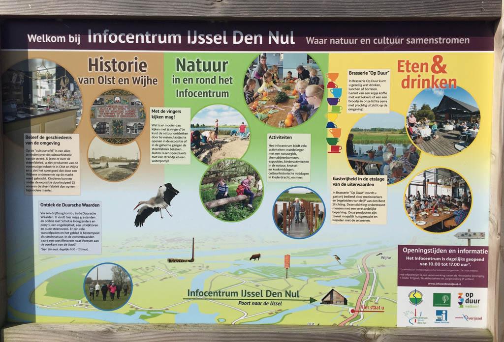Genoeg te doen bij infocentrum IJssel bij Den Nul.