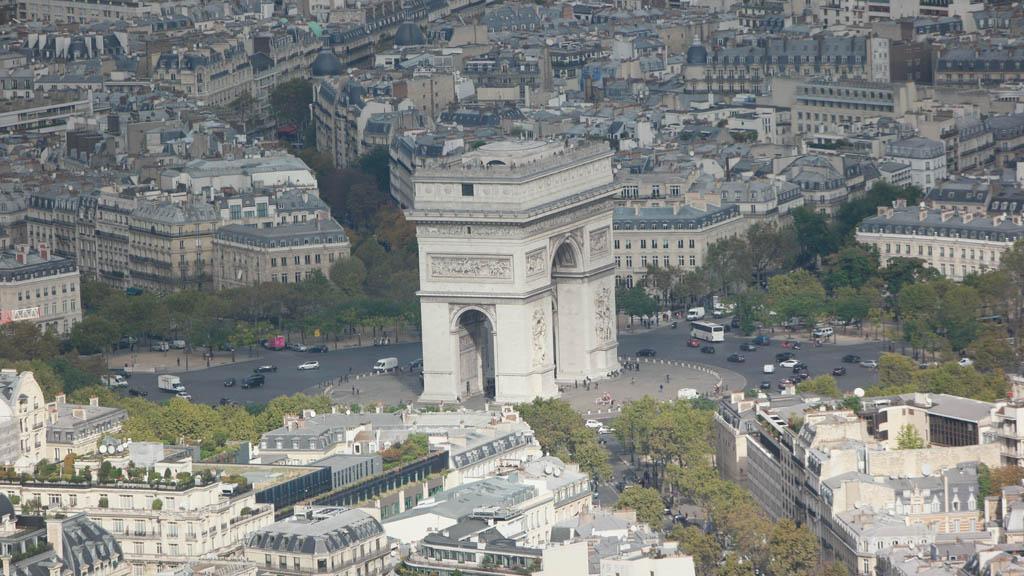 De Arc de Triomphe.