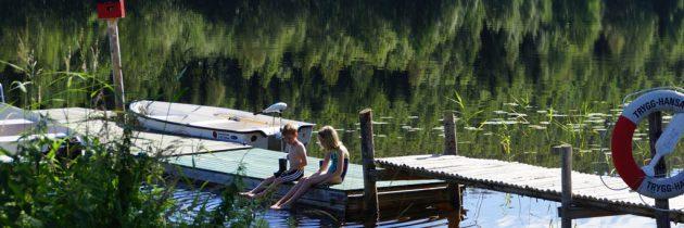 Jannesland Camping Stugor & Fiske in het midden van Zweden