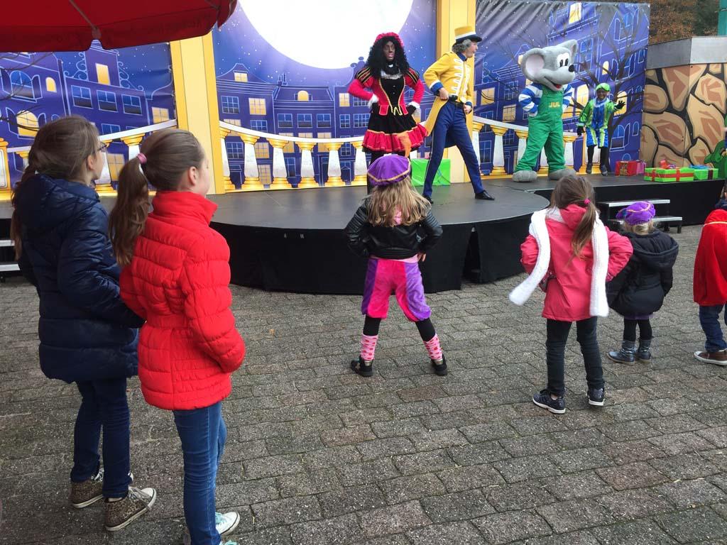Dansen tijdens de Dansschool Show.
