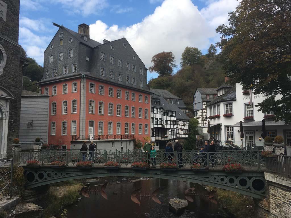 Het centrum van Monschau.