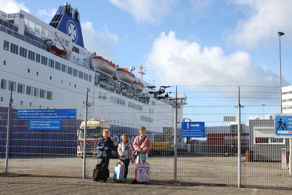 Op naar Newcastle met de boot!