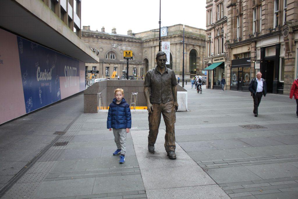 Newcastle ademt kunst en cultuur.