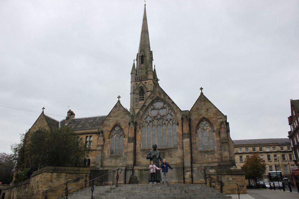 St Mary's Cathedral, een van de mooie kerken van Newcastle.