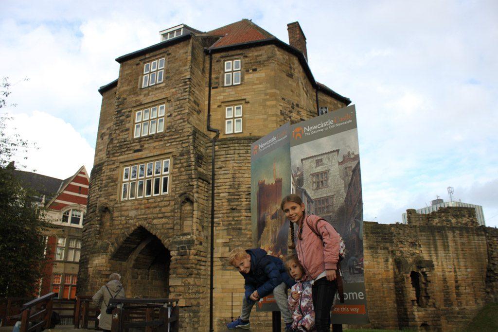 Newcastle Castle mag je niet overslaan bij een stedentrip Newcastle met kinderen.