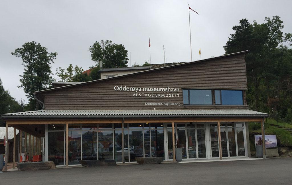 Het Odderroya havenmuseum.
