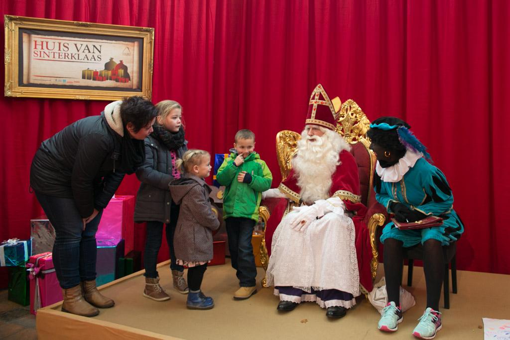 Sinterklaas in Nijmegen (foto: Marije).