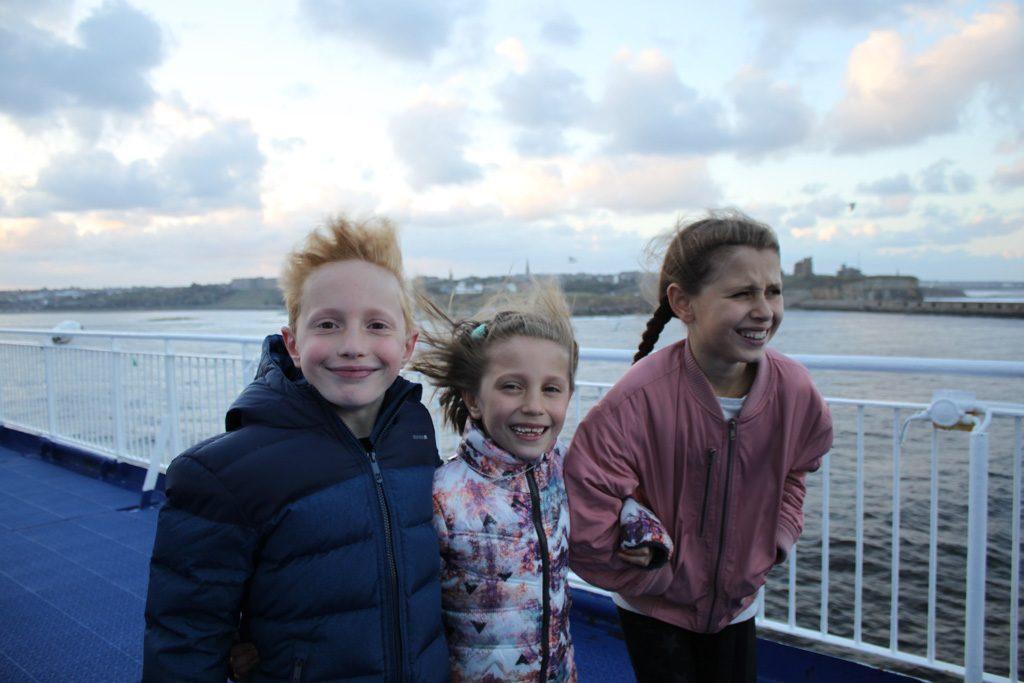 Varen met DFDS naar Newcastle kidsproof? Wij vinden van wel.
