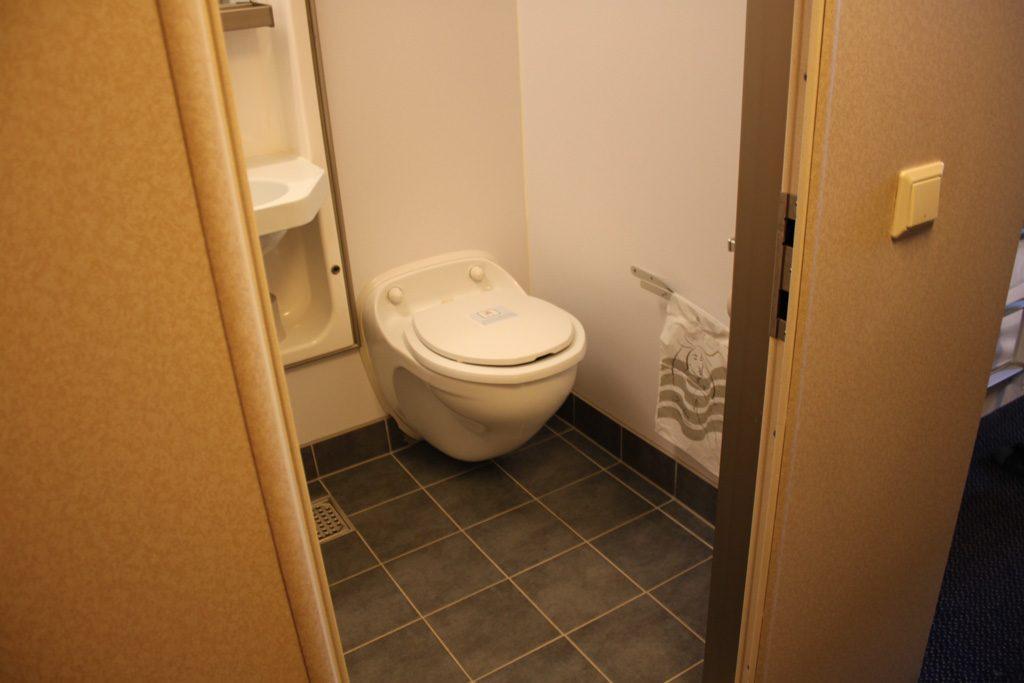 Eigen badkamer.