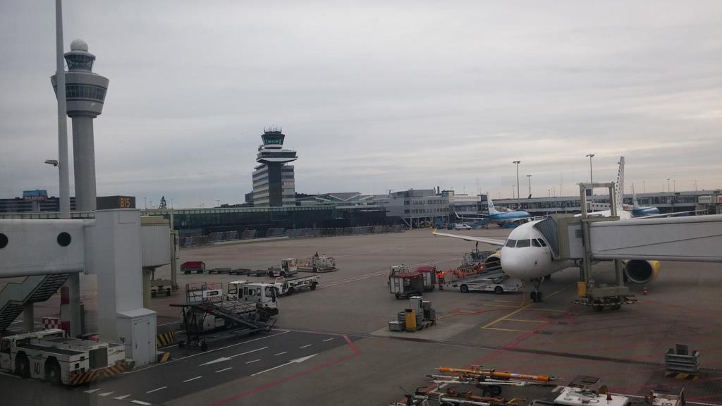 Op Schiphol is altijd genoeg te zien.