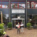 Lunchen met kinderen in Gouda bij Kruim in de oude Chocoladefabriek.