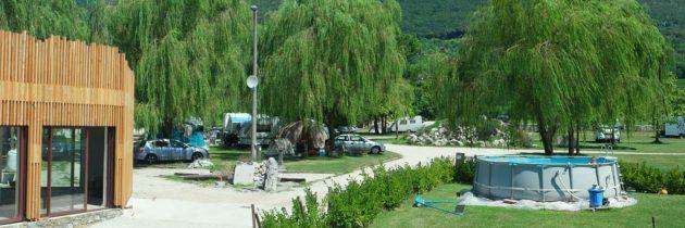 Camp Lijak, kleine camping in Slovenie