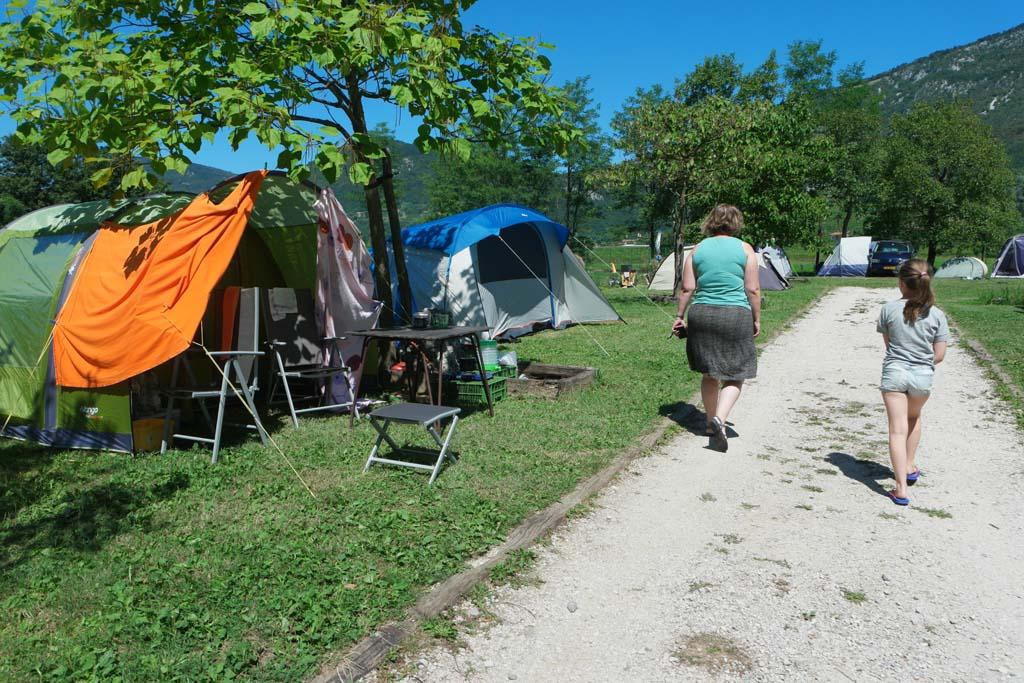 Even een 'rondje camping' doen.