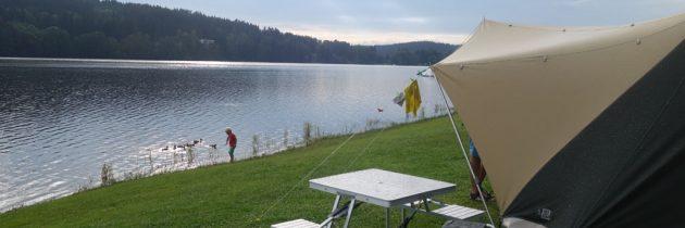 Camping Frymburk: gezinsvriendelijke camping aan het Lipnomeer in Tsjechië