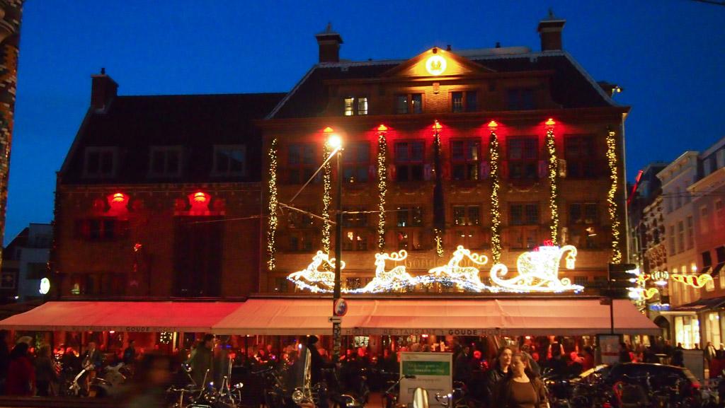 Kerst in Den Haag.
