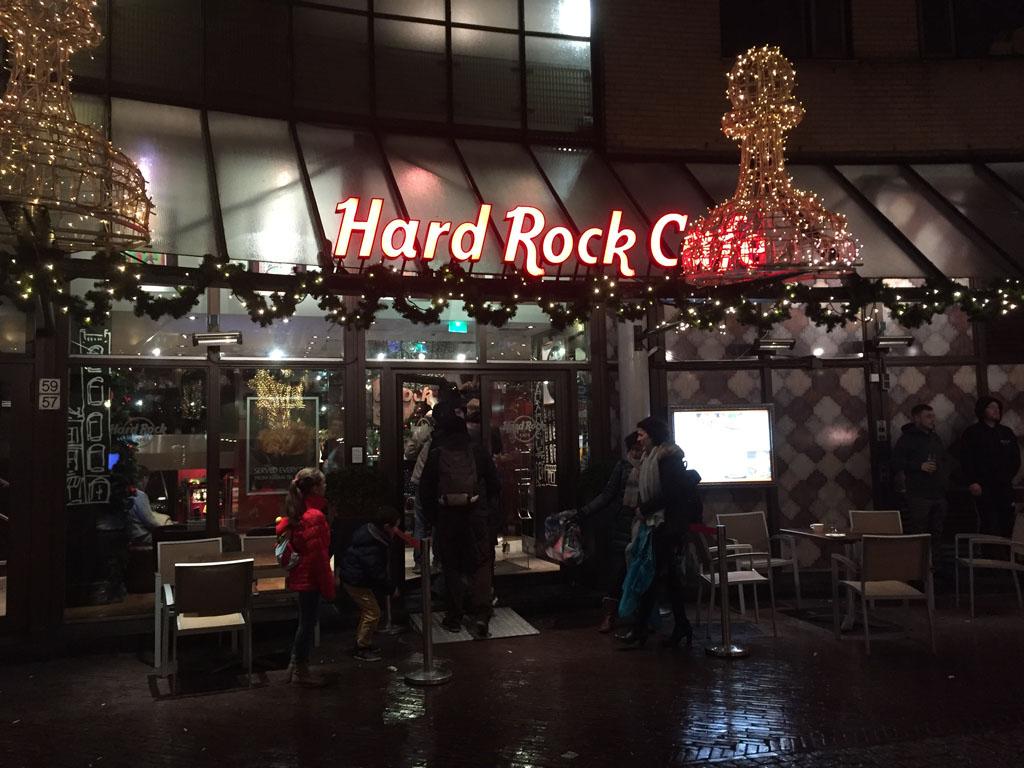 Hard Rock Cafe Amsterdam.