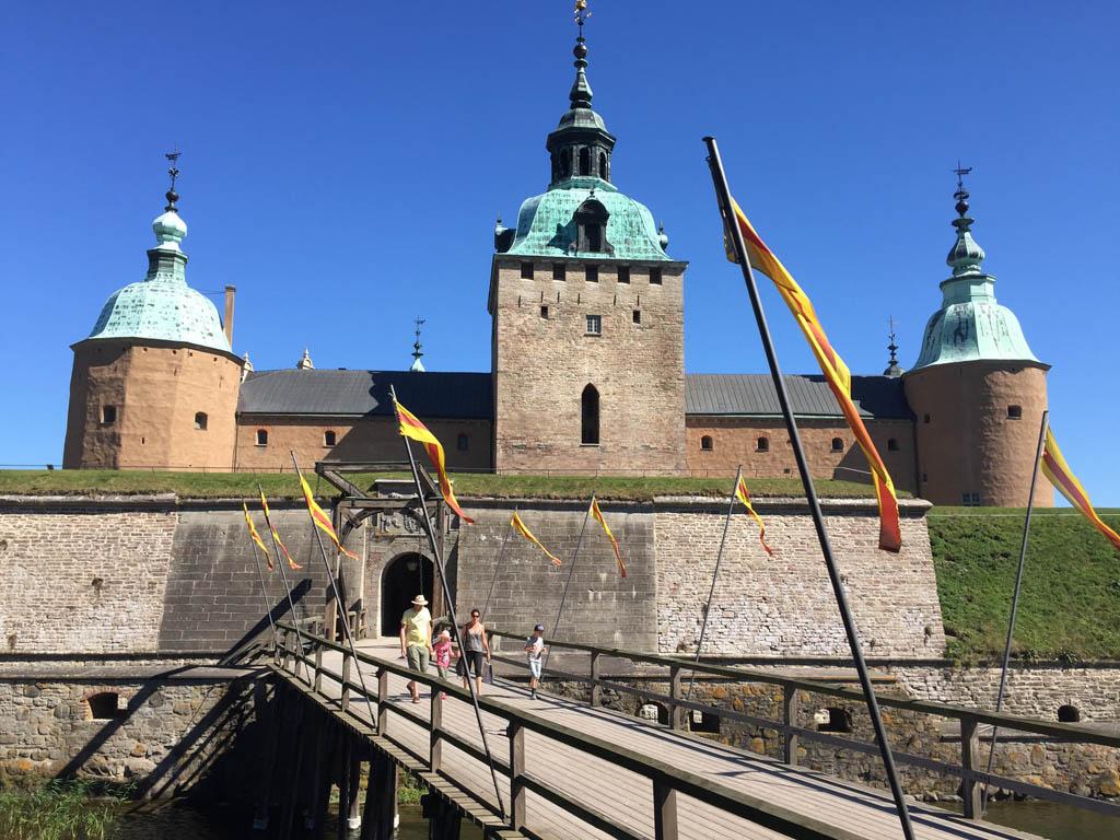 Het kasteel van Kalmar.