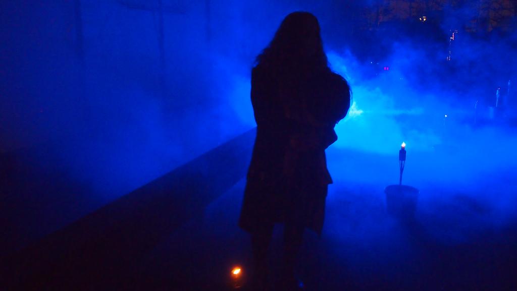 Oei, werd het in Kampen dus echt eng zo in het donker.