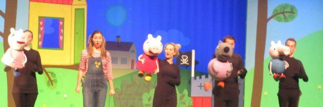 Recensie: Peppa Pig en De Grote Plons!, een theatervoorstelling voor kleine kinderen