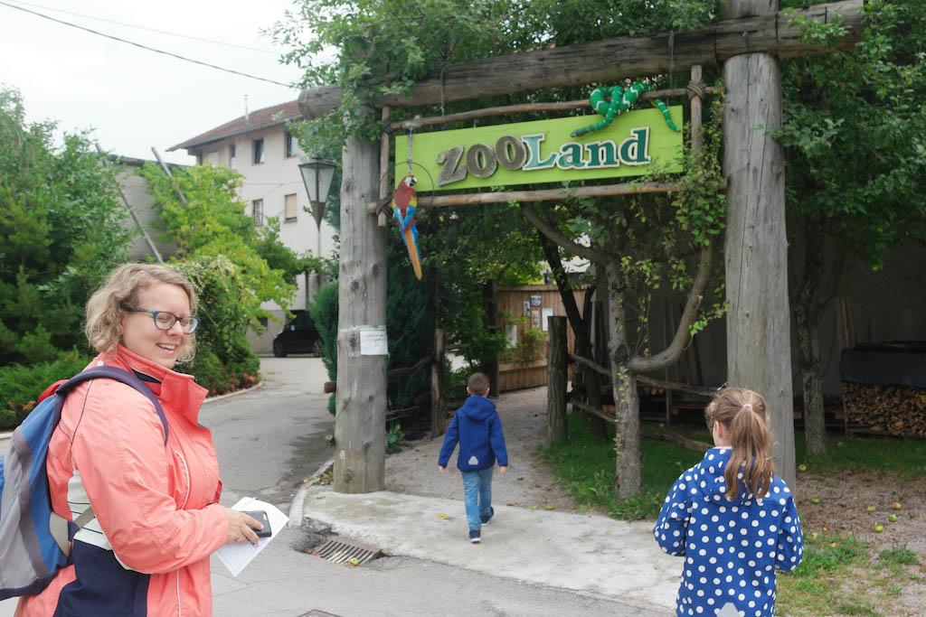 Mini ZOO Land, een van de bezienswaardigheden in Slovenske Konjice.