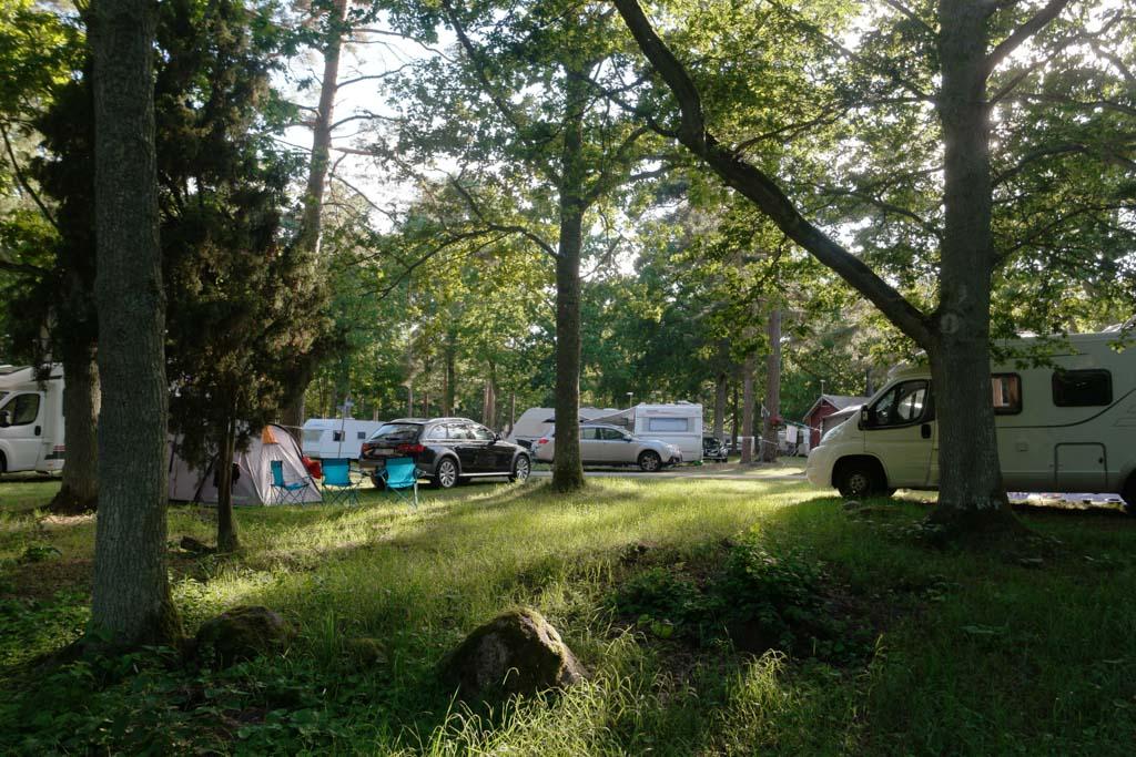 Door het vele groen heeft de camping een rustige uitstraling.