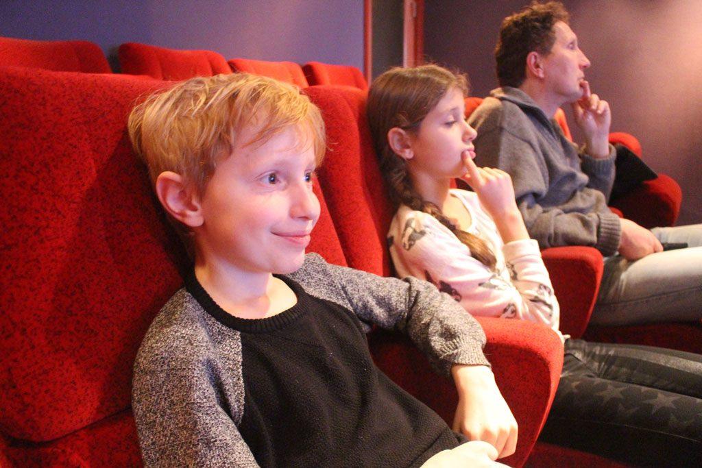 Prima plekken in een van de oudste filmtheaters van Nederland: 't Hoogt.