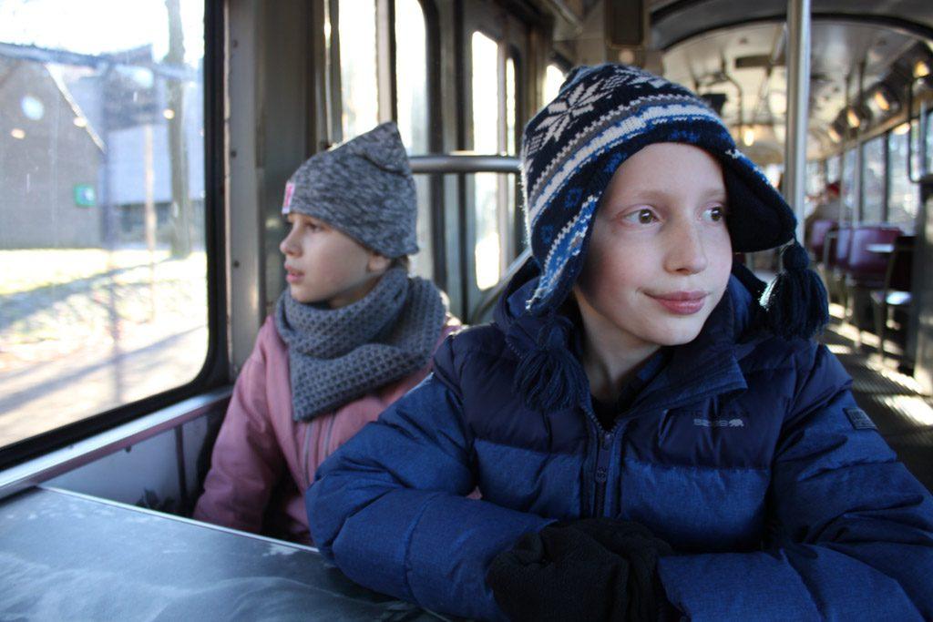 Geen zin om te lopen? Pak de tram.