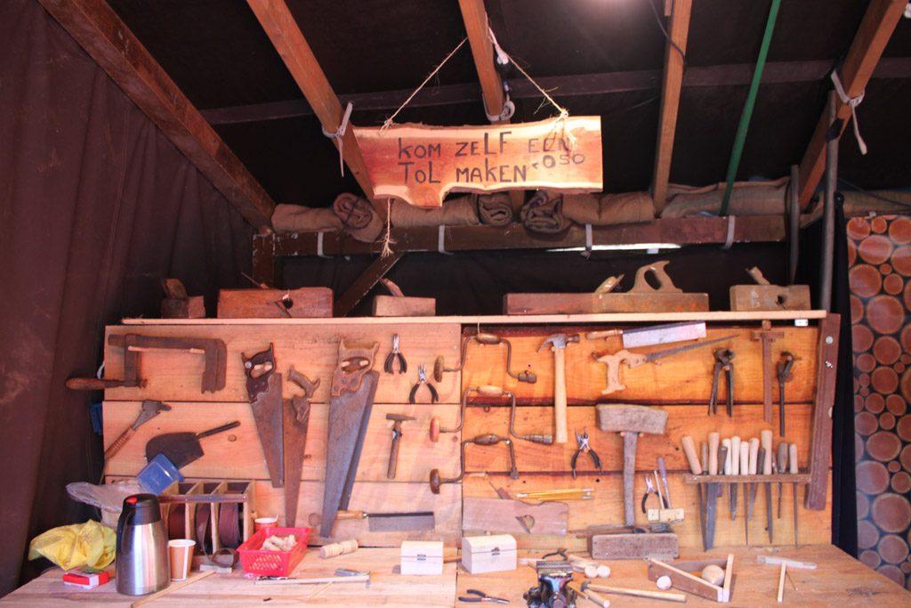 Je kunt Oud-Hollands speelgoed maken.