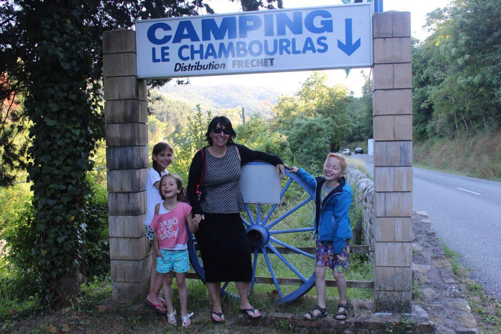 Wij vieren vakantie op camping Chambourlas, nu camping coeur d'Ardèche, een charmante familiecamping in de Ardèche