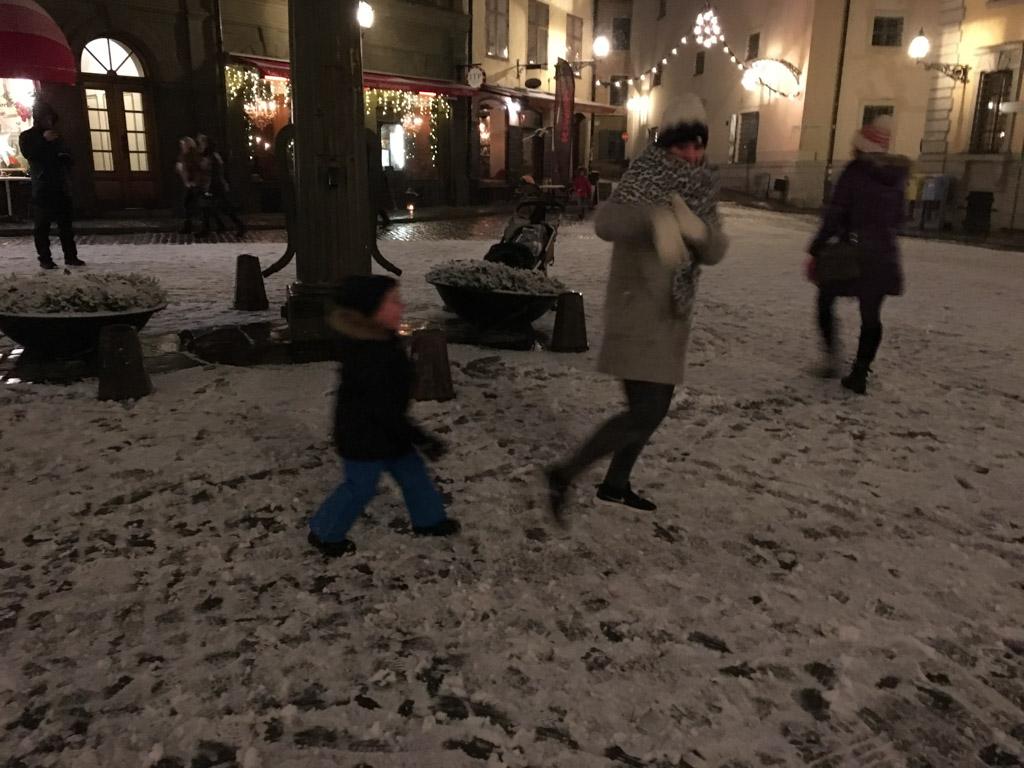 Sneeuwballengevecht!