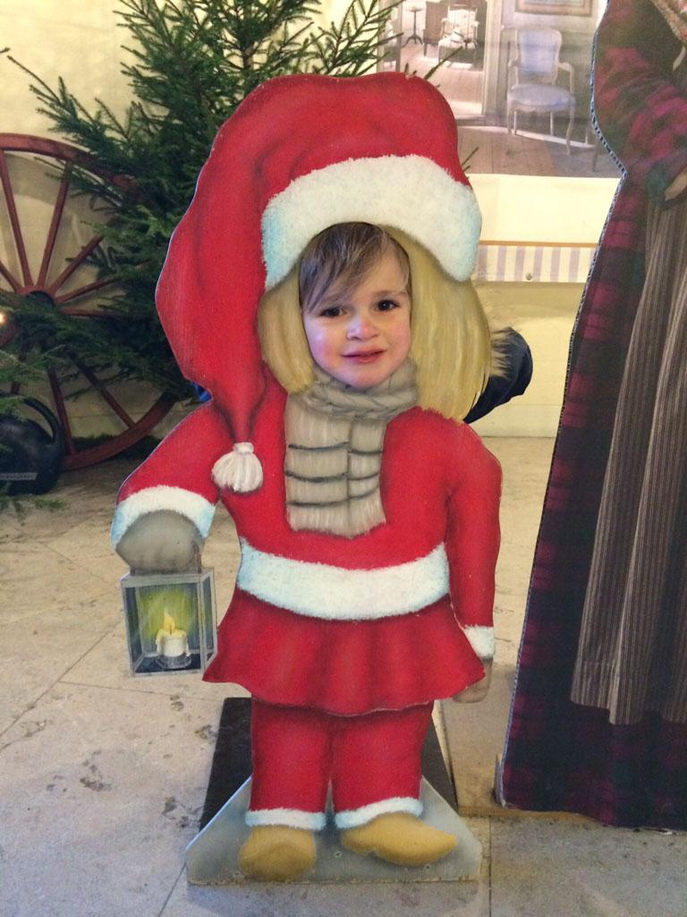 Kerstmannetje Jilles.