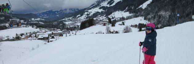 Met kinderen op wintersport in het Kleinwalsertal
