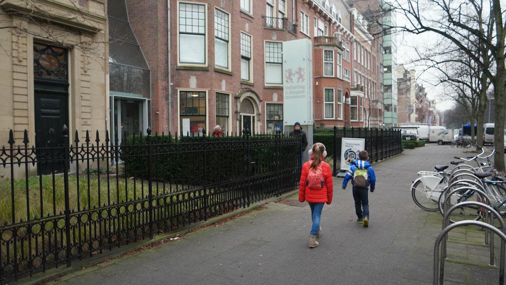 Het Belasting- en Douane Museum is te vinden in een van de oude gedeeltes van Rotterdam.