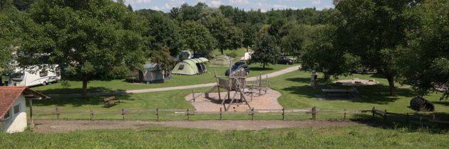 Camping Am Bauernhof Kramer, kleine camping bij de Bodensee
