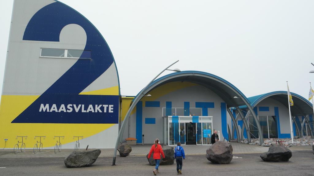Informatiecentrum Futureland op de Tweede Maasvlakte.