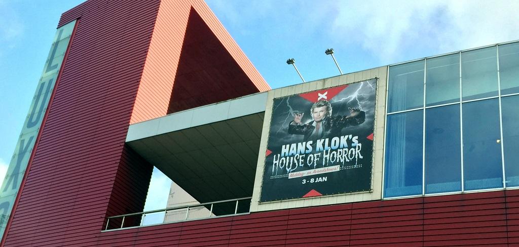 Hans Klok in het nieuwe Luxor Theater in Rotterdam.