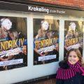 Jeli vindt het jeugdtheater Hendrik IV ongeschikt voor kinderen juist wel geschikt voor kinderen.