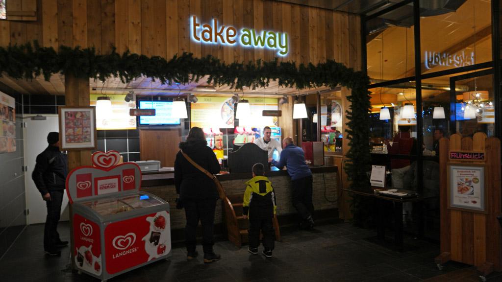 Patat met bradwurst van de Takeaway was een goede keuze!