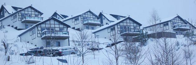 Sneeuwpret bij Landal Winterberg in de winter