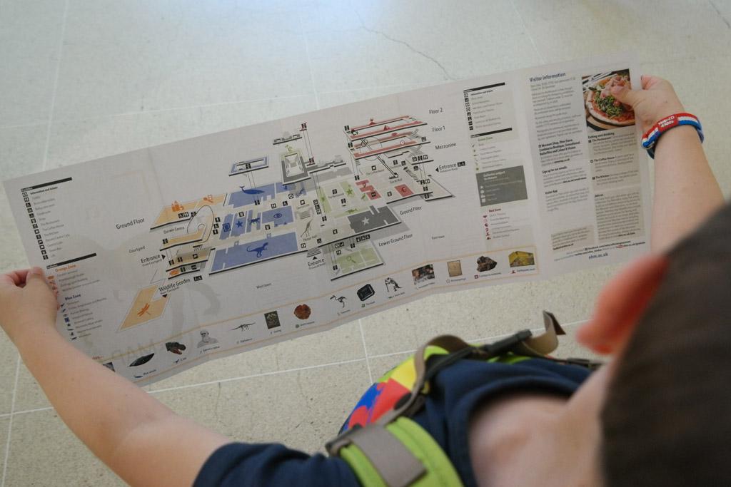 Even orienteren: waar zijn we in dit grote museum terecht gekomen?