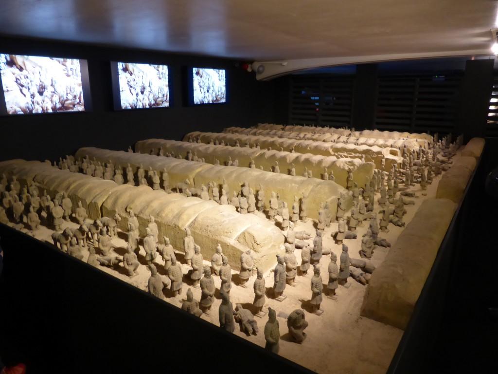 Overzicht van de opgravingen die gedaan zijn in China