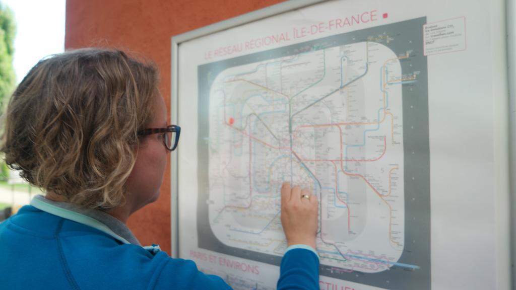 Met de RER zijn we vanaf Sandaya Camping Maisons Laffitte zo in het centrum van Parijs.