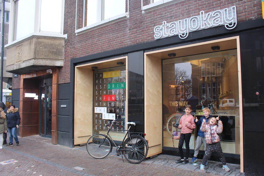 Overnachten in hartje centrum bij Stayokay Utrecht met kinderen.