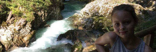 Wandelen in Slovenië: de Vintgar kloof met kinderen ontdekken