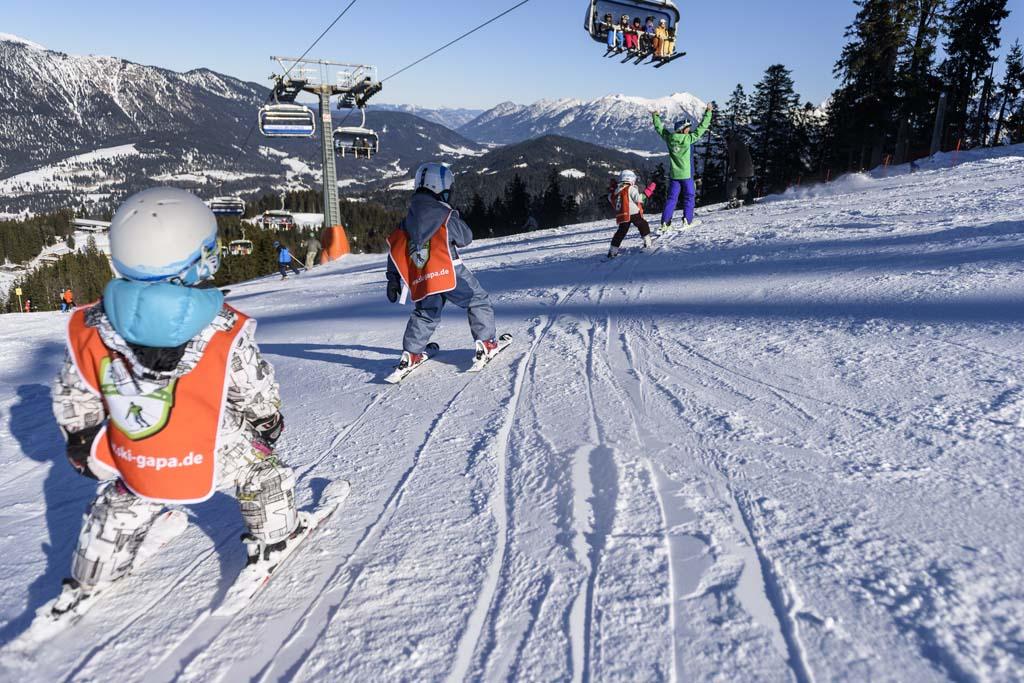 Wintersport in Duitsland met kinderen (foto: Duits Verkeersbureau).