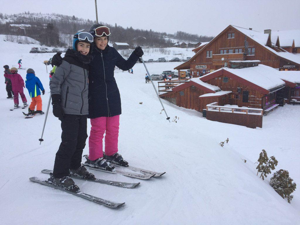 Wintersport in Noorwegen met kinderen is behoorlijk sneeuwzeker.