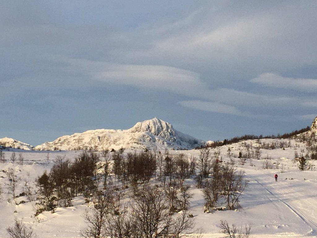 Wintersport in Noorwegen is echt genieten van de sneeuw.